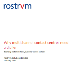 contact centres need a predictive dialler