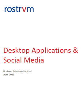 Rostrvm Solutions Contact Centre Desktop and Social Media Research